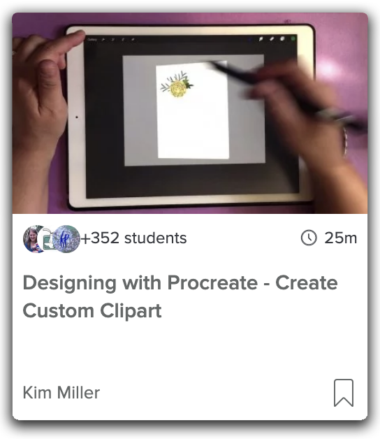 Cover Image of Procreate Class