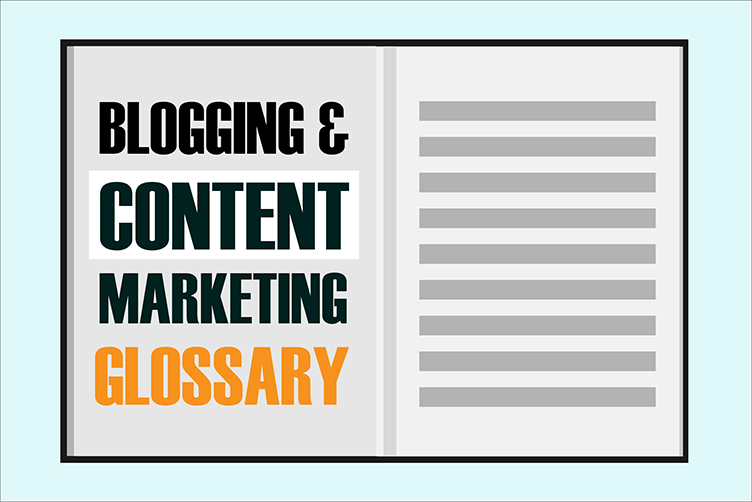 blogging glossary featured image