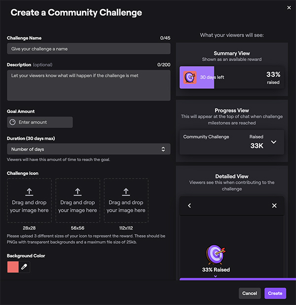 Community Challenges